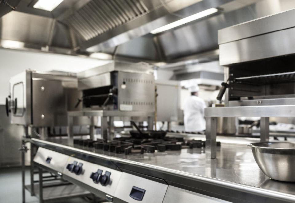installation materiel cuisine professionnelle